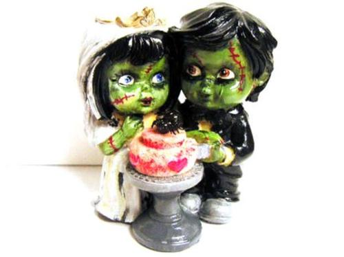 Zombie Cake Topper Boing Boing