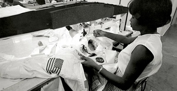 The seamstresses behind NASAs space suit Boing Boing