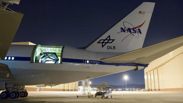 A ride on NASA's flying telescope / Boing Boing