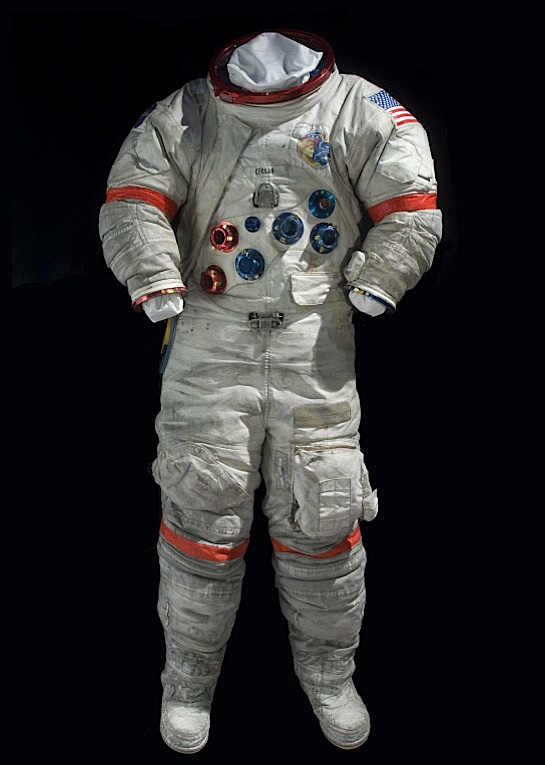 The last space suit on the Moon / Boing Boing