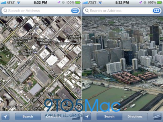 Apple rumors  sweet new 3D map feature coming to iOS6   Boing Boing