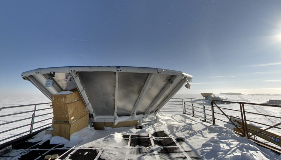 Google unveils Street View imagery from Antarctica ...