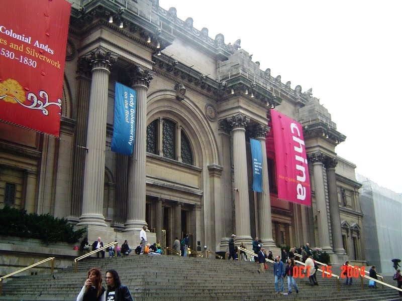The facade of nyc 39 s metropolitan museum of art has never for The metropolitan museum of art nyc