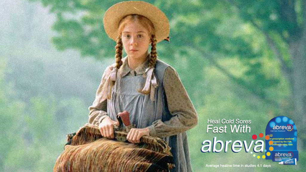 Anne of Green Gables had herpes (and you probably do, too) / Boing Boing