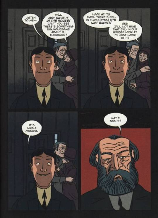 The Case of Charles Dexter Ward: HP Lovecraft, much improved in graphic form.