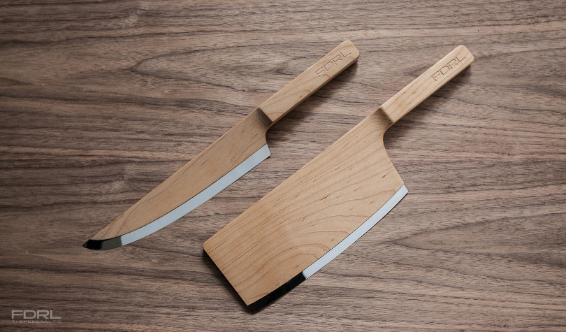 Wooden chef's knives