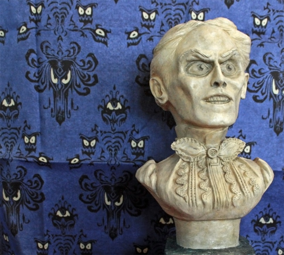 Haunted Mansion wallpaper and fabric