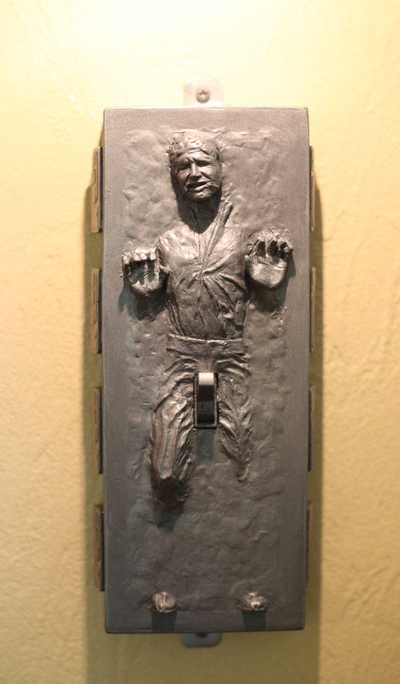 Han-in-Carbonite-with-a-boner lightswitch cover