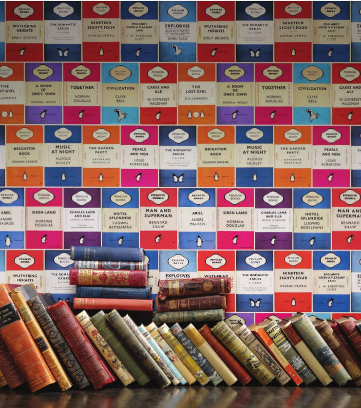Penguin Book Covers Vintage : Penguin classic wallpaper boing