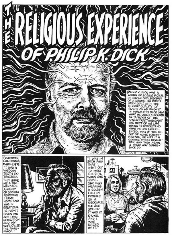 Robert Crumb illustrates the Religious Experience of Philip K  Dick