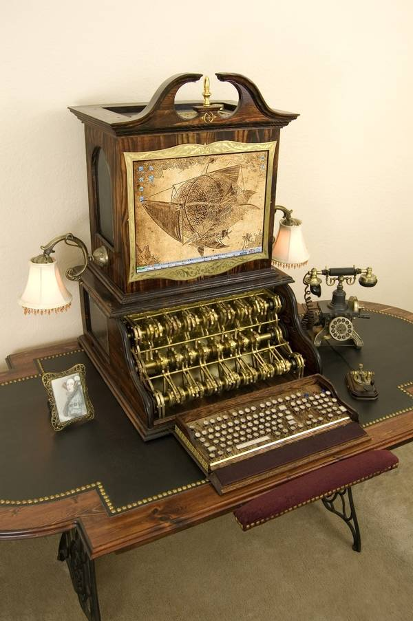 Steampunk PC from Datamancer