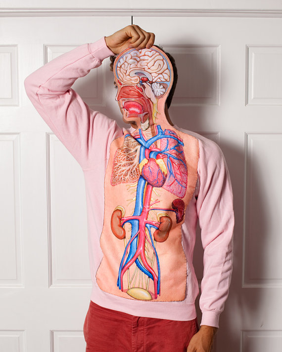 Anatomical sweatshirt you can't have