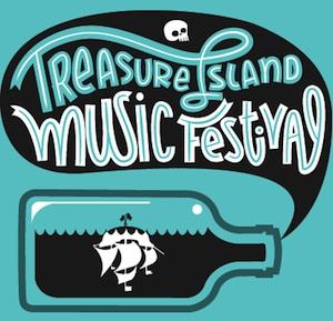 Treasure island 2013 logo