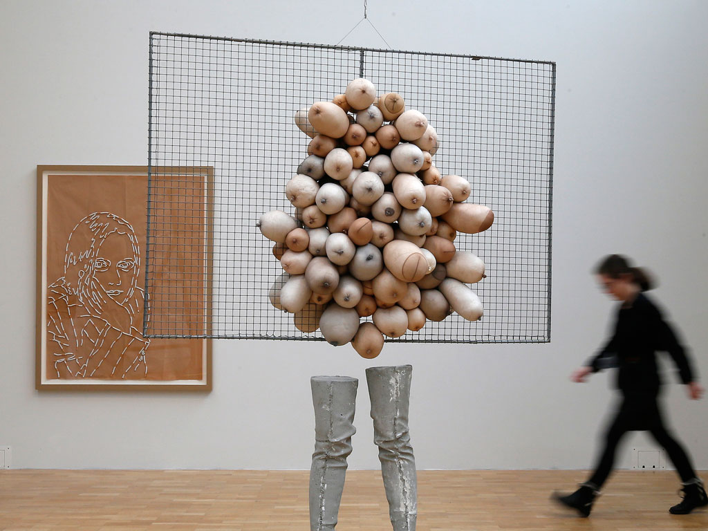 Nice Tits, by Sarah Lucas / Boing Boing