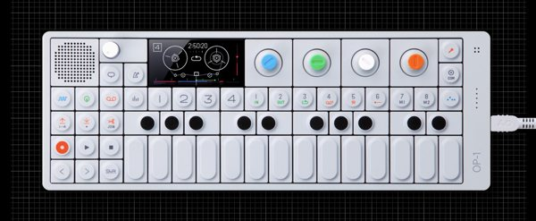 OP-1 Portable Synthesizer by Teenage Engineering
