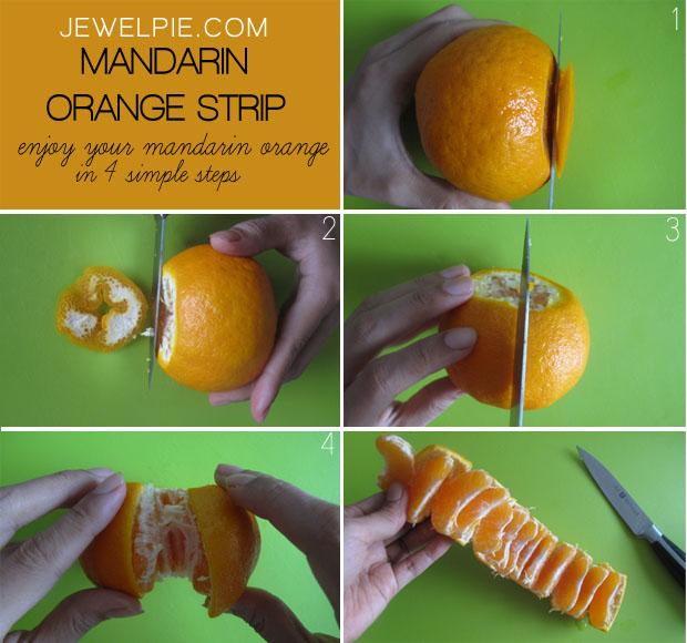 Better way to eat mandarin oranges