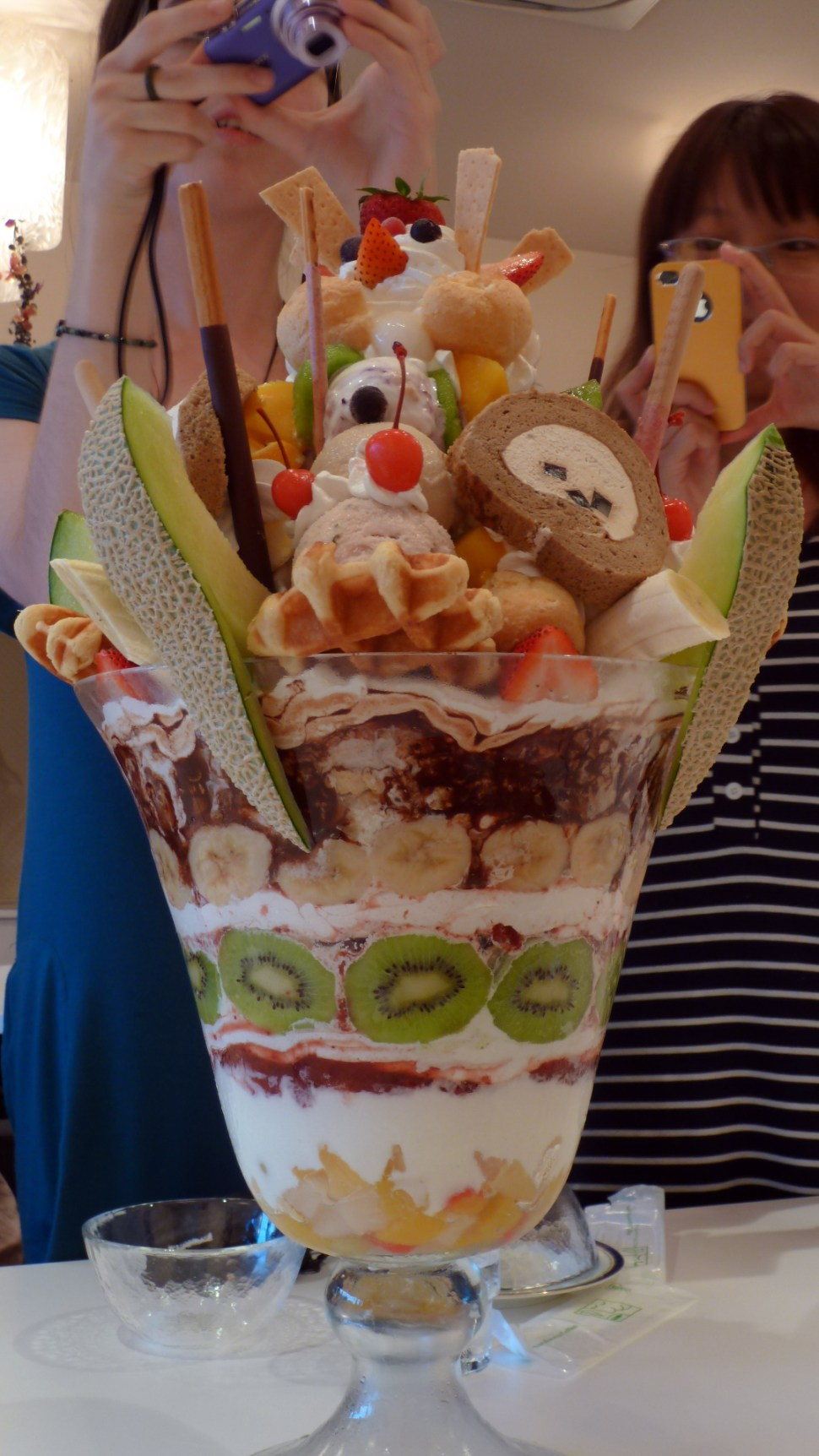 Parfaitzilla: the dessert that ate Japan