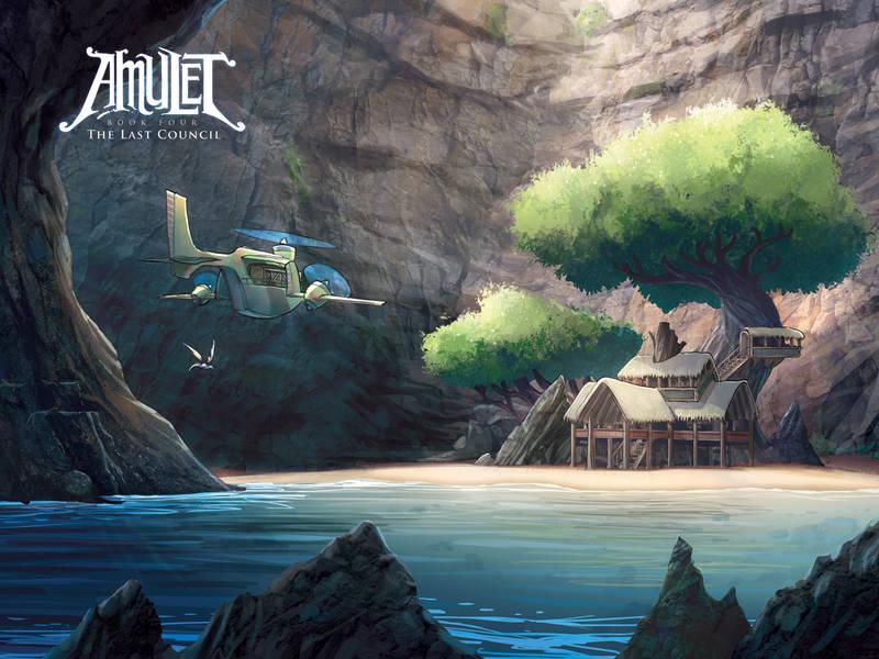 Amulet Amazing Adventurous Kids Graphic Novels Have