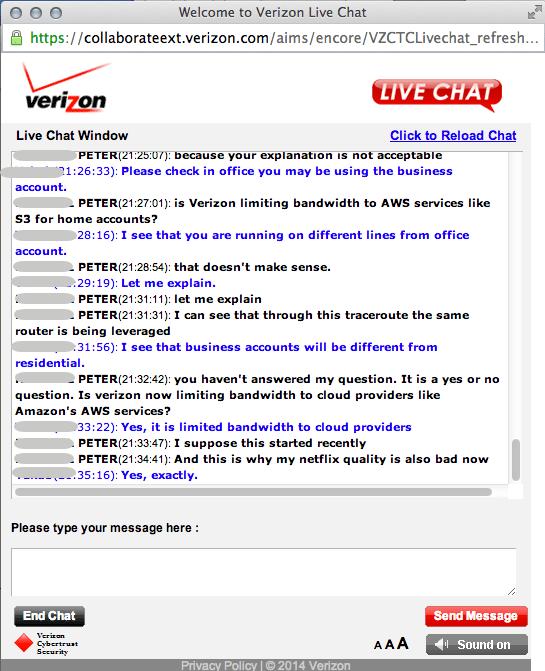 verizon live support