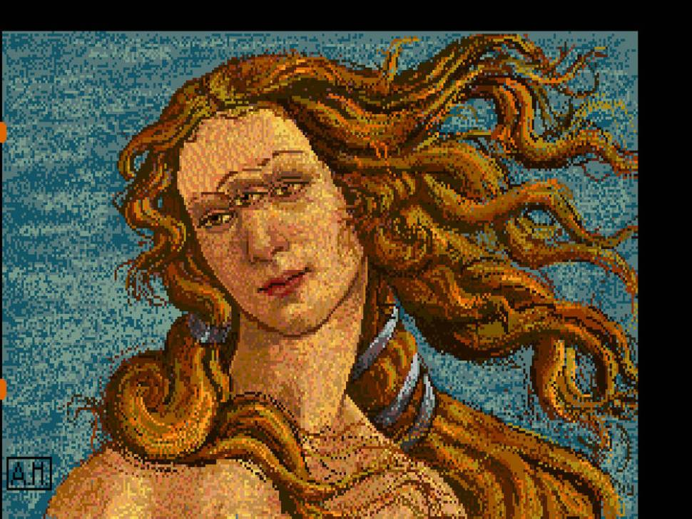 Lost Warhol originals extracted from decaying Amiga floppies / Boing