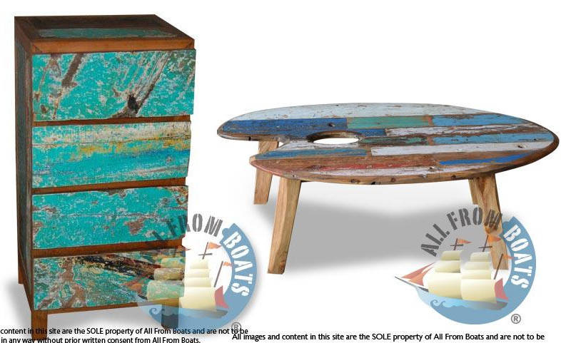 Furniture Made From Recycled Boat Wood Boing Boing