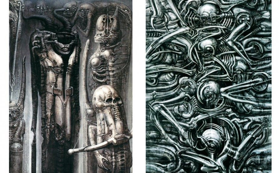 From the Taschen book of Giger art