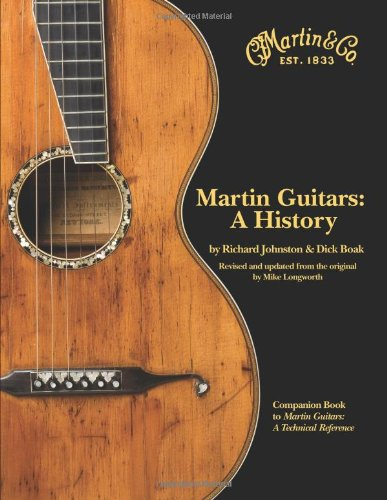 Martin Guitars A History Revised and Updated Book 1