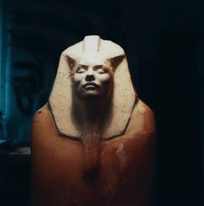 H.R. Giger, Sacophagus, 1981. Designed for Backfired, 1981