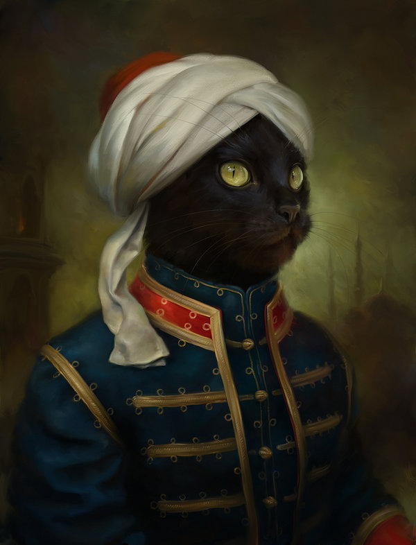 the_hermitage_court_moor_cat_by_eldarzakirov-d6bnrby