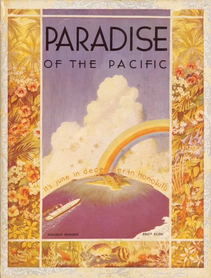 'Paradise of the Pacific' 1934 Magazine