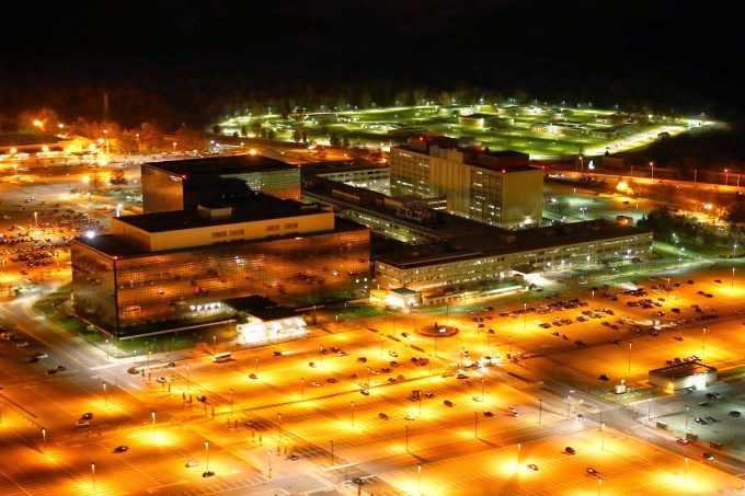 NSA headquarters, photographed by Trevor Paglen, via HRW.