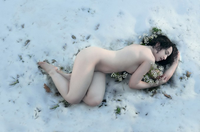 """""""The Fragile Blossom That Opens In The Snow,"""" Sarah Allegra"""
