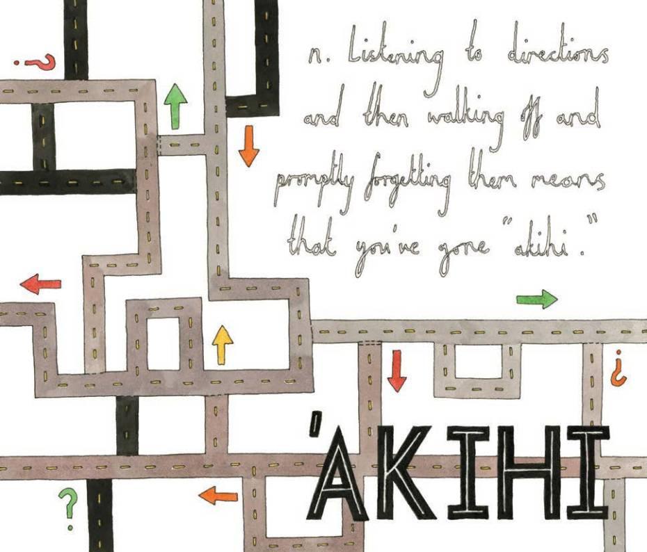 'Akihi - Hawaiian, noun