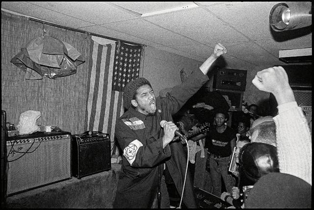 Bad Brains, 1982, New York City.