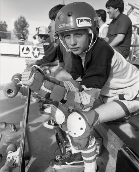 Tony Hawk, circa 1982, Pomona, CA.