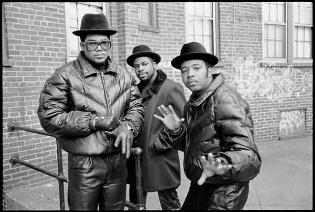 "Run-DMC, Jam Master Jay, 1985, Hollis Queens, New York. Photo: Glen E. Friedman, from ""My Rules."""