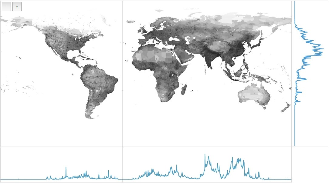 Interactive Map World Population By Latitude And Longitude - Latitude map world
