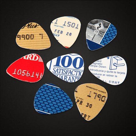 make guitar picks from any flat plastic boing boing. Black Bedroom Furniture Sets. Home Design Ideas