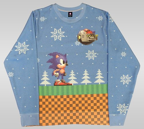 Street Fighter ugly Christmas jumper