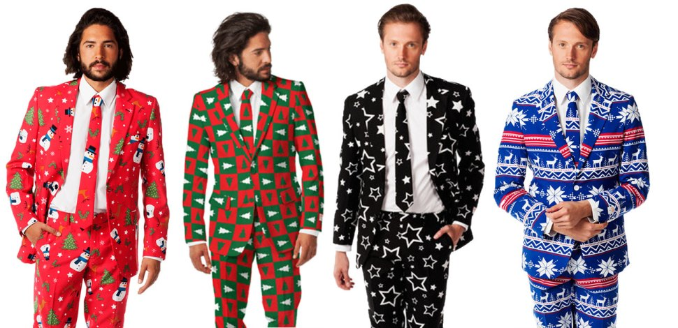 Shinesty Christmas Suits.Horrid Christmas Suits Boing Boing
