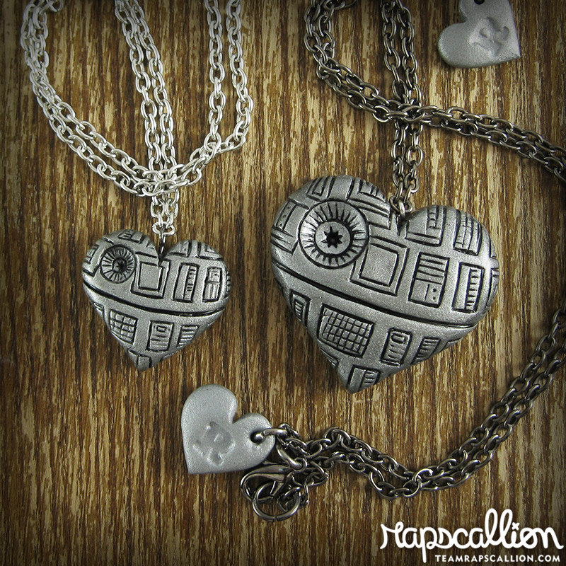 Death Star Heart Necklace Boing Boing