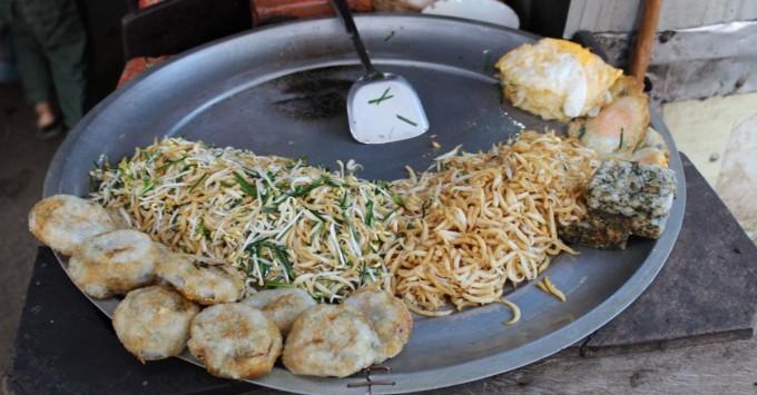 Cambodian Market Breakfast