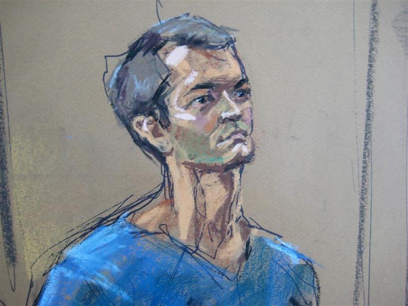 Ross Ulbricht , who prosecutors say created the underground online drugs marketplace Silk Road, makes an initial court appearance in New York, February 7, 2014. Image: REUTERS/JANE ROSENBERG