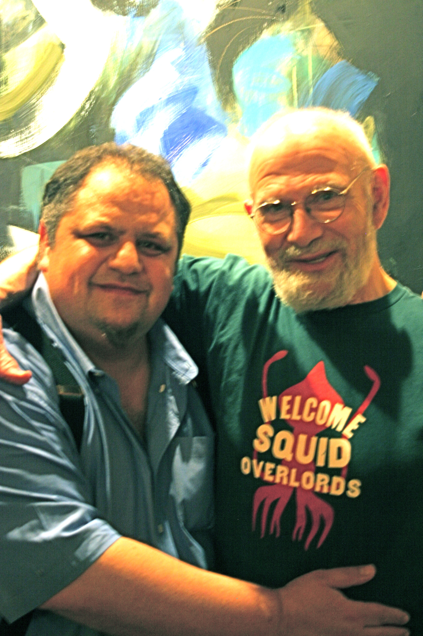 Steve Silberman (L), Oliver Sacks (R). Photo: Keith Karraker.