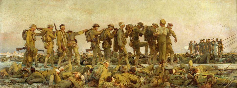 John Singer Sargent's 1918 painting Gassed