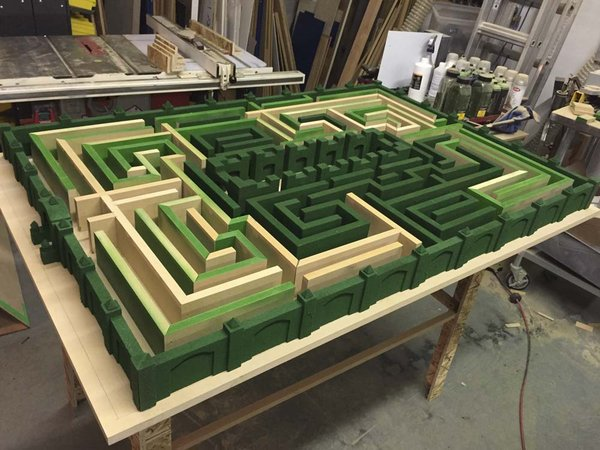 Adam Savage S Build Notes For His Overlook Hotel Maze From