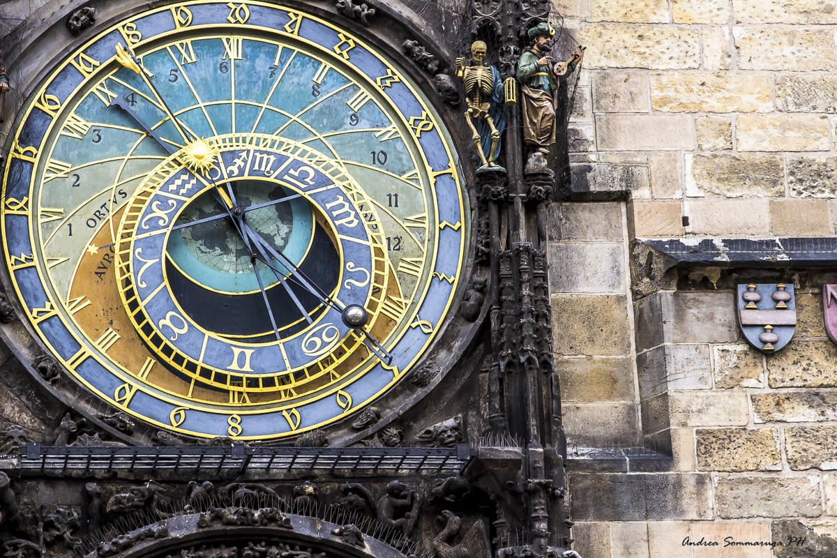 Prague astronomical clock a lovely photograph by a boing for Xeni jardin 2015