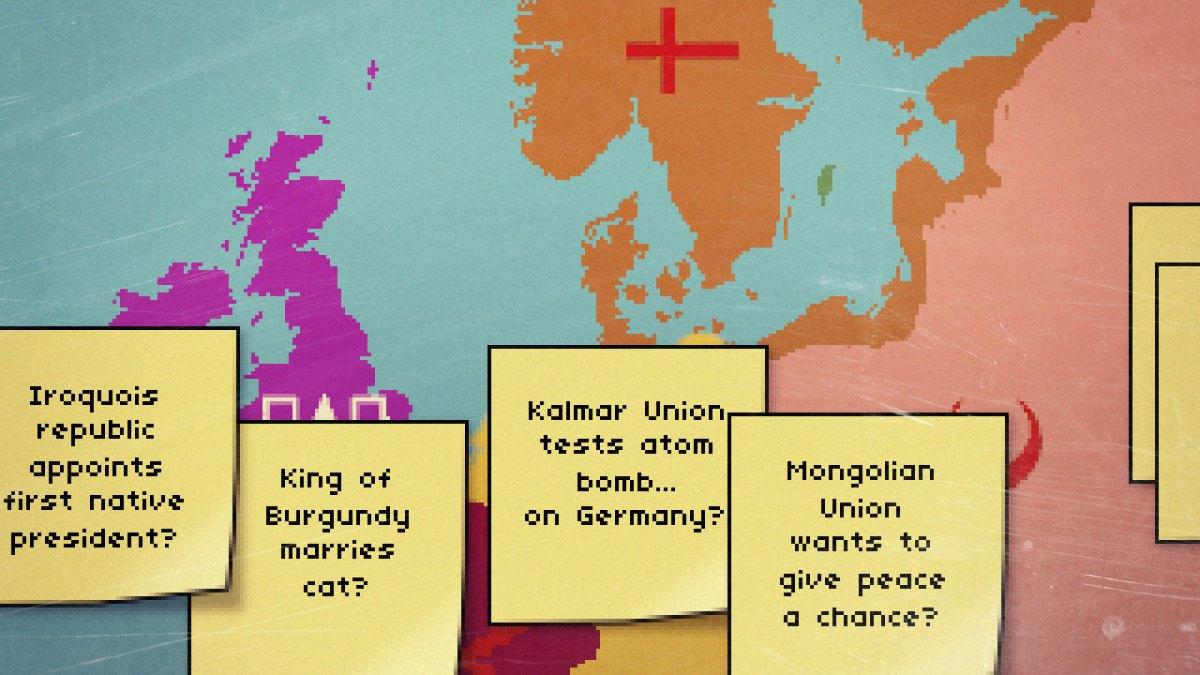 Fantasy worlds that break history's back