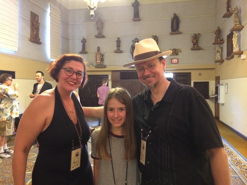 Jane met artists Marion Peck and Mark Ryden