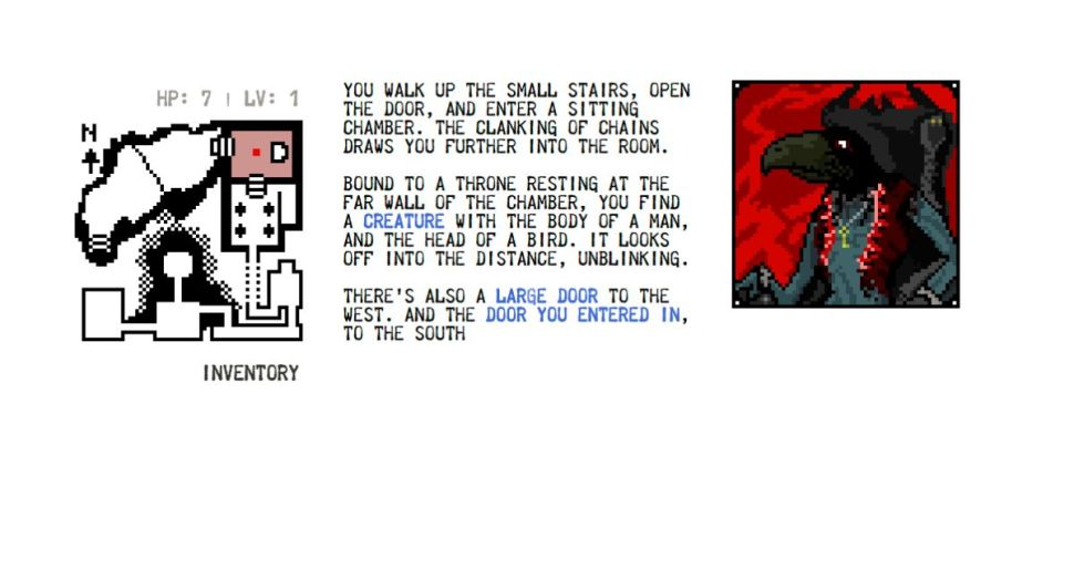 A dungeon game within an experimental documentary book ...